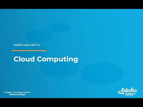 Cloud Computing - Edafio Cloud