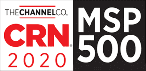 The Channel Co. CRN MSP 500 award 2020