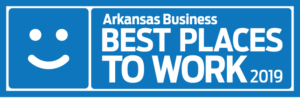 Arkansas Businesses Best Places to Work 2019 logo