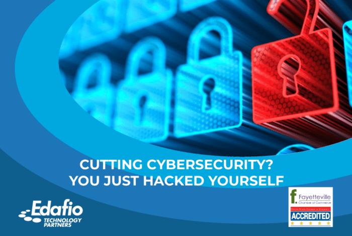 cutting cybersecurity