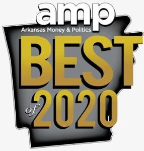 AMP Arkansas Money & Politics Best of 2020 logo