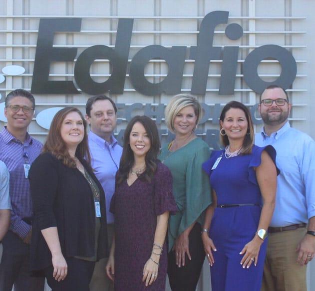 Edafio healthcare team members