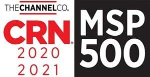 2021 CRN MSP 500 award