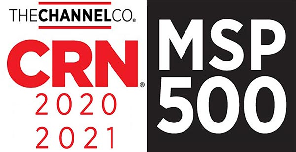 2021 CRN MSP 500 award