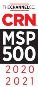 The Channel Co CRN MSP 500 award 2020-2021