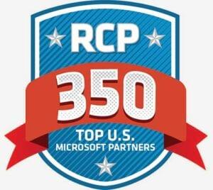 RCP 350 Top U.S. Microsoft Partners award