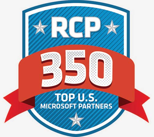 RCP 350 Top U.S. Microsoft Partners award