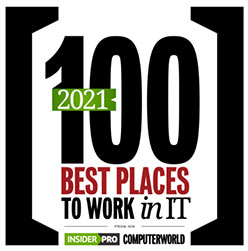 100 Best Places to Work in IT 2021
