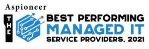 Aspioneer Best Performing Managed IT service providers 2021